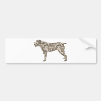 Wirehaired Pointing Griffon Bumper Stickers