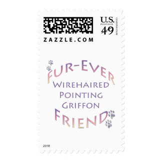 Wirehaired Pointing Griffon Furever Friend Stamps