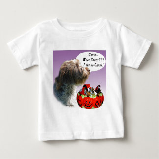 Wirehaired Pointing Griffon Halloween Candy T Shirts