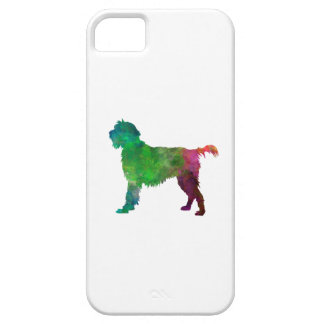 Wirehaired Pointing Griffon Korthals in watercolor Funda Para iPhone SE/5/5s