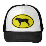 Wirehaired Pointing Griffon Mesh Hat