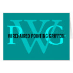 Wirehaired Pointing Griffon Monogram