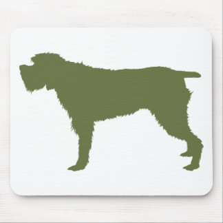 Wirehaired Pointing Griffon Mouse Pad