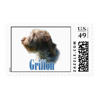 Wirehaired Pointing Griffon Name Postage