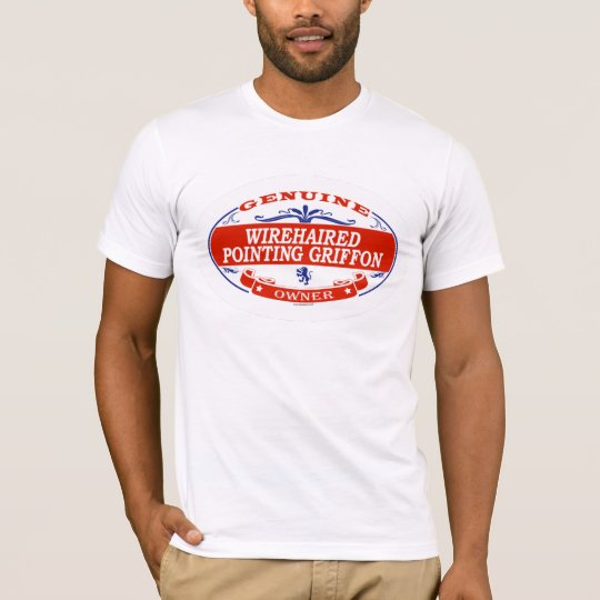 WIREHAIRED POINTING GRIFFON_ T-Shirt