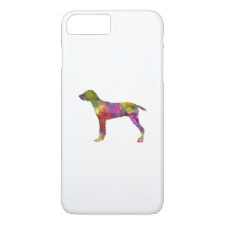 Wirehaired Slovakian Pointer in watercolor-2 iPhone 7 Plus Case