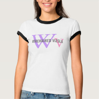 Wirehaired Vizsla Breed/Dog Lovers Initials Shirt