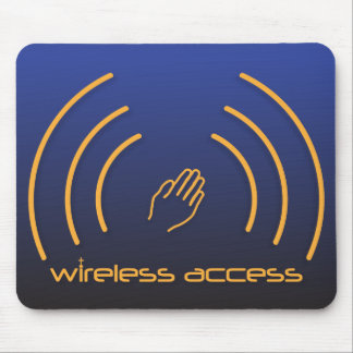 Wireless Access Christian mousepad