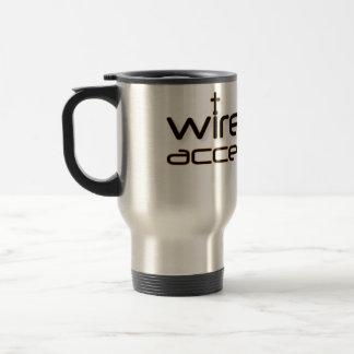 Wireless Access Christian prayer travel mug