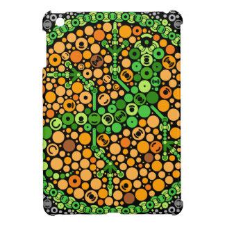 Wireless Gecko, Color Perception Test, Black iPad Mini Covers
