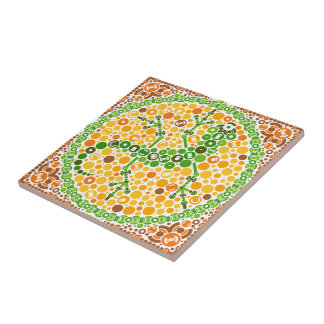 Wireless Gecko, Color Perception Test, White Ceramic Tile
