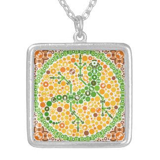 Wireless Gecko, Color Perception Test, White Custom Jewelry