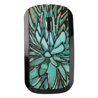 Wireless Mice - Spiky Blue Agave Wireless Mouse
