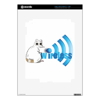 Wireless Mouse Decal For The iPad 2