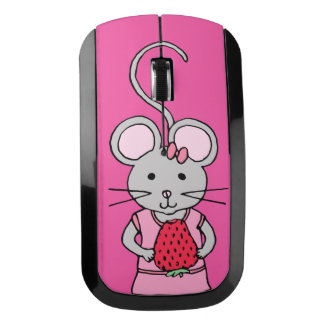Wireless Mouse: Pink Mouse