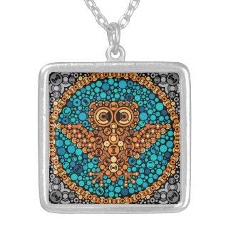 Wireless Owl Color Perception Test Black Pendants