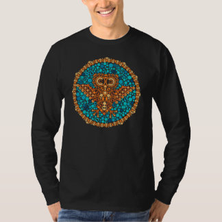 Wireless Owl, Color Perception Test, Black T Shirts