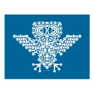 Wireless Owl Postcard