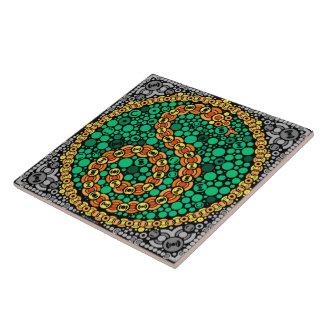 Wireless Python, Color Perception Test, Black Tile