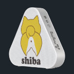 """Wireless speaker of 柴 dog<br><div class=""""desc"""">The wireless speaker Bluetooth function where illustration of the 柴 dog is drawn,  full stereo sound Cute shiba! Love Shiba! Shiba inu ON products from Japanese Shiba store.</div>"""