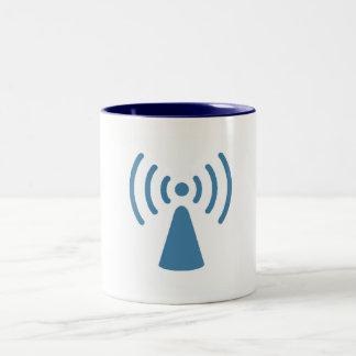 Wireless Two-Tone Coffee Mug