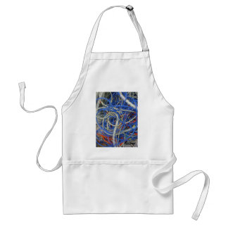 Wires Adult Apron
