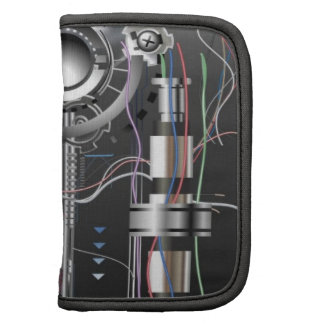 wires and internal bits and gadgets planner case