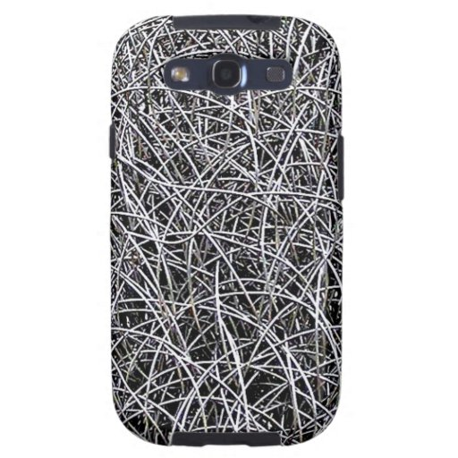 Wires Circles Abstract Art  Effect Glossy Wall Art Galaxy S3 Cover