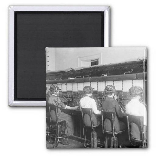 Wires Crossed: 1914 Fridge Magnets