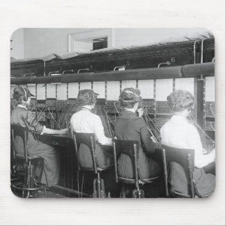 Wires Crossed: 1914 Mouse Pad