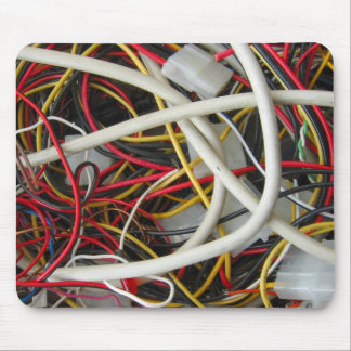Wires Mouse Pad