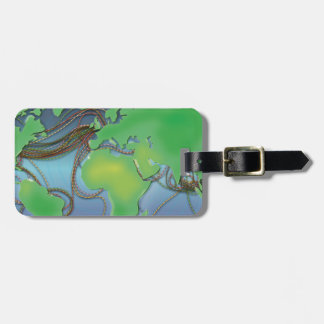 Wires of the World - Undersea Cables Bag Tag