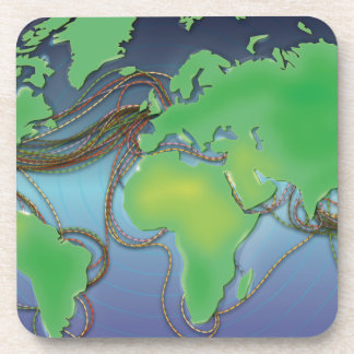 Wires of the World - Undersea Cables Coaster