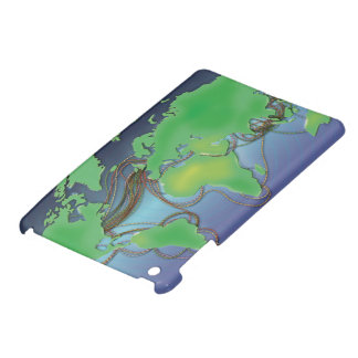 Wires of the World - Undersea Cables iPad Mini Cases