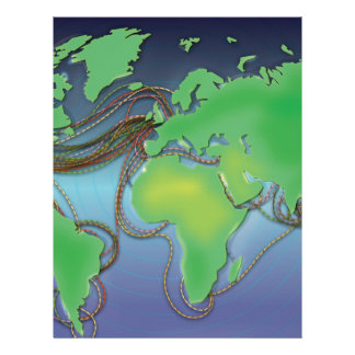 Wires of the World - Undersea Cables Letterhead