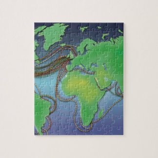 Wires of the World - Undersea Cables Puzzle