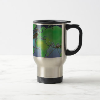 Wires of the World - Undersea Cables Travel Mug