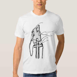 Wires to the Wind / Slim Fit Tee Shirt