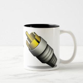 WireTap Anywhere Two-Tone Coffee Mug