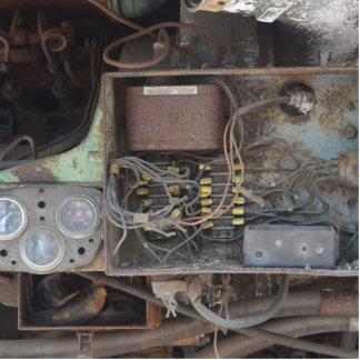 Wiring under traincar.JPG Standing Photo Sculpture