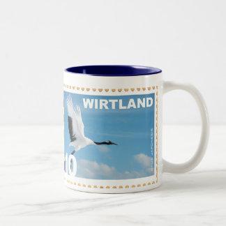 Wirtland Crane Postage Stamp Mug