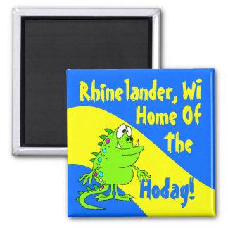 Wisc de los WI de Rhinelander Hodag Hodags del rec