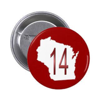 Wisconsin 14 pin redondo de 2 pulgadas
