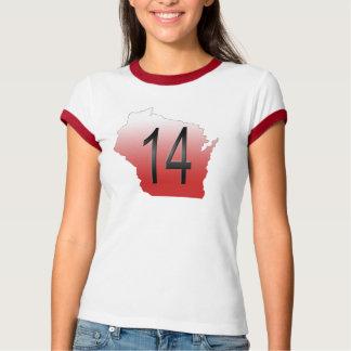 Wisconsin 14 polera