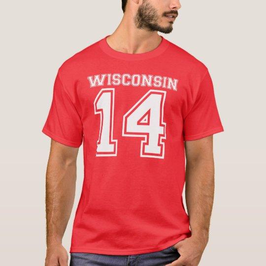 Wisconsin 14 T-Shirt