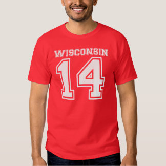 Wisconsin 14 t shirts