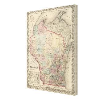 Wisconsin 2 impresión en lona