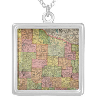 Wisconsin 2 personalized necklace
