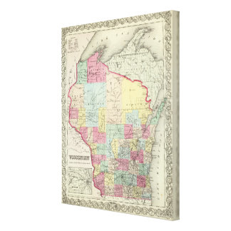 Wisconsin 3 impresiones en lona