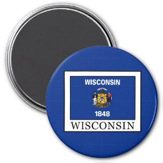 Wisconsin 3 Inch Round Magnet